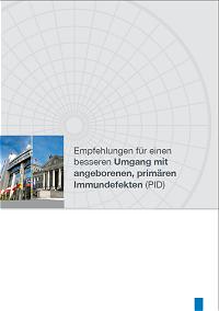 Broschüre: Empfehlungen im Umgang mit angeborenen Immundefekten