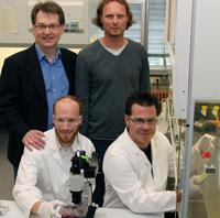 Foto von den Wissenschaftlern