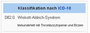 Wiskott-Aldrich-Syndrom
